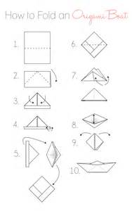 To Make A Paper Boat - topic how do you make a paper sailboat easy build