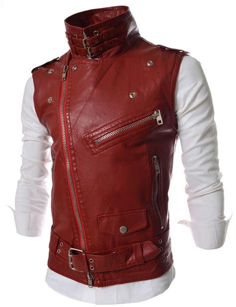 Vest Zipper Kamen Rider Ryuga lve thelees slim big zipper rider style vest