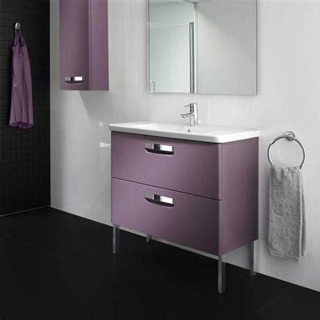 Roca The Gap Unik Wall Hung 2 Drawer Vanity Unit With Roca Bathroom Vanity Units