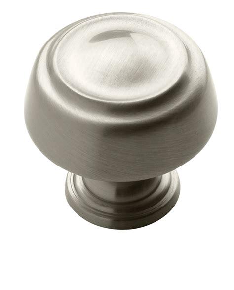 Satin Nickel Knobs Bp53700 G10 Amerock Satin Nickel Cabinet Door Knob