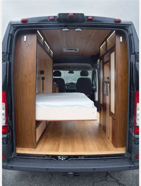 van with bed murphy bed van conversions pinterest murphy bed