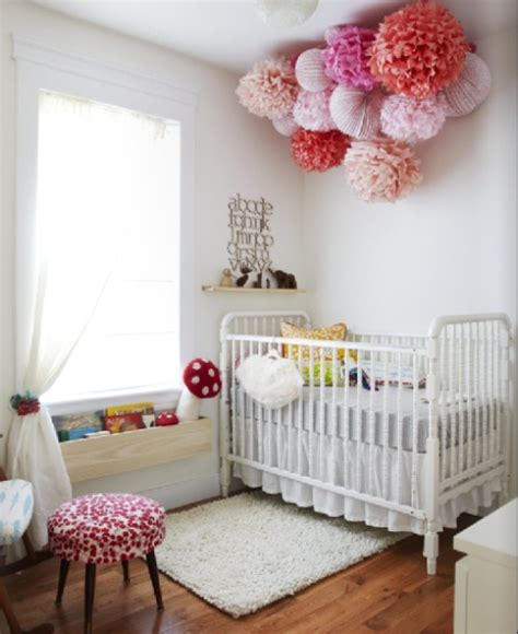 nursery decor pom poms used in nursery decor