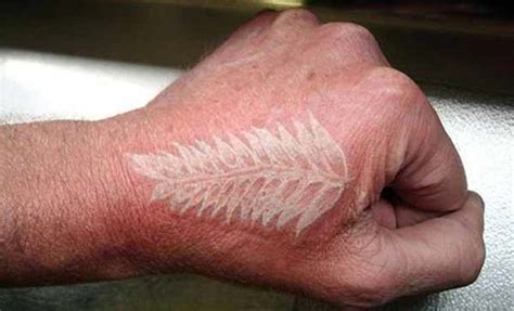 20 cool designs of white ink tattoos