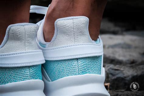 Adidas X Parley White adidas x parley eqt support adv running white blue spirit