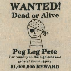 wanted pirate poster template free pirate poster embroidery pattern shiny happy world