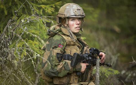 wallpaper girl military soldier women blonde female soldier norwegian