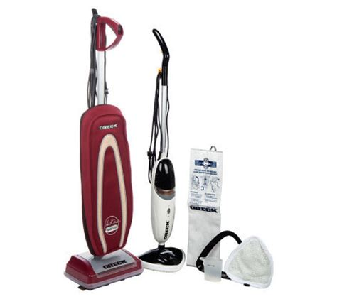Floor Vacuum And Steamer by David Oreck Founder Series Upright Vacuum W Steam Glide