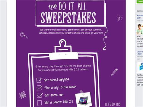 Microsoft Sweepstakes - microsoft store lenovo miix sweepstakes