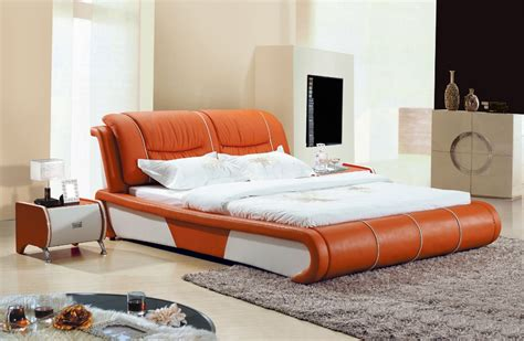 Imported Bedroom Furniture American Style Furniture Bedroom Furniture Warner Imported Wax Leather Bed Linen Bed