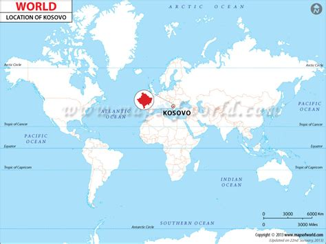 kosovo on the world map where is kosovo location of kosovo