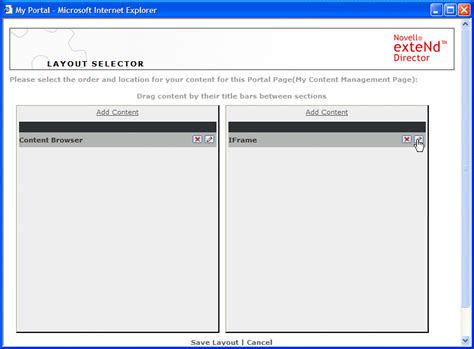 html layout using iframe using iframe portlets for content management