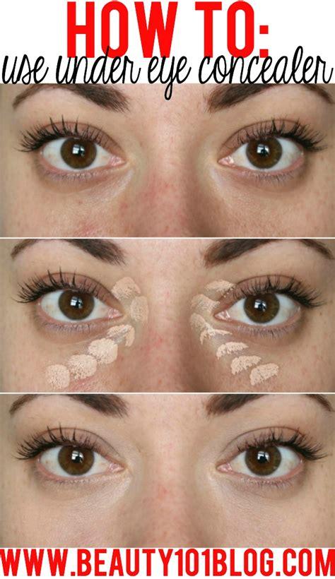 tutorial makeup concealer how to use undereye concealer conceal dark circles