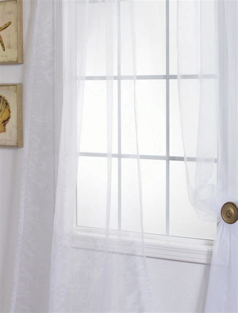 solid white curtain panels white solid faux organza sheer curtain contemporary