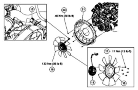 2004 ford explorer fan clutch removal ford 6 0 sel fan clutch wiring diagram ford free engine