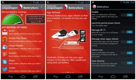 batteryguru apk snapdragon batteryguru app update adds new features phonesreviews uk mobiles apps networks