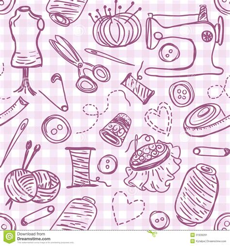 free doodle embroidery patterns sewing doodles stock image image 31939291