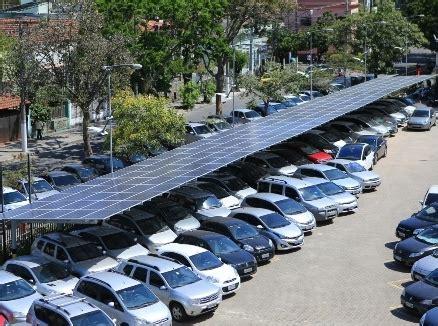 enel energia sede gera 199 195 o de energia solar no estacionamento da enel atinge