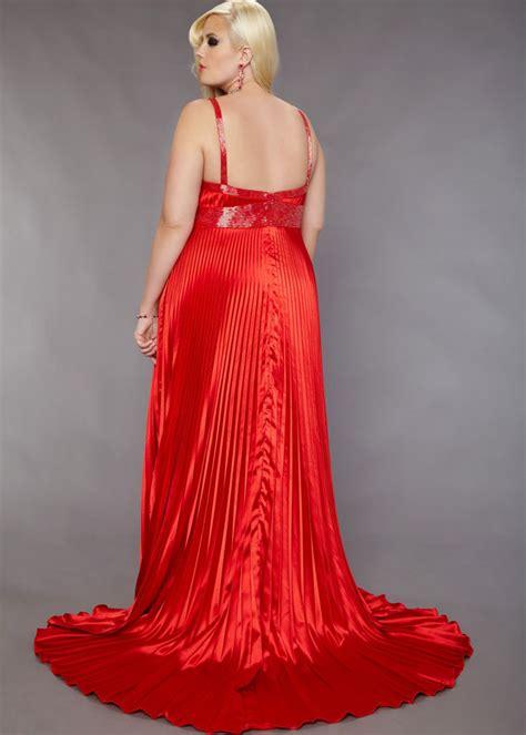 plus size floor length red wedding dress chiffon   Sang