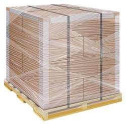 palletizing international shipping from the usa
