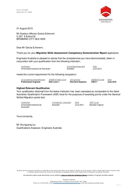 Evaluation Outcome Letter 150830 Msa Cdr Outcome Letter For 5162990 1
