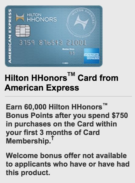 hilton hhonors card from american express earn hotel no fee hilton card offers 60 000 points 50 000 points