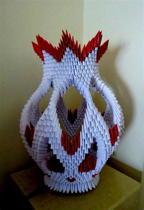 Modular Origami Vase - 1000 images about 3d origami on vase