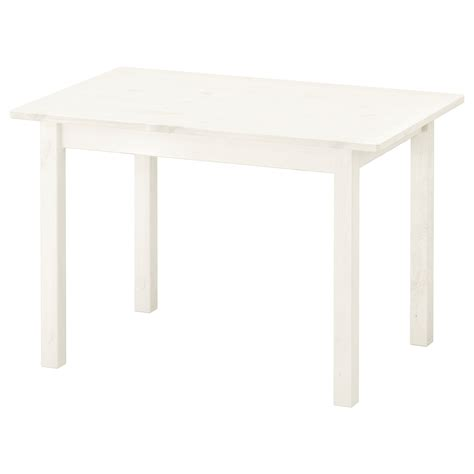 white ikea table sundvik children s table white 76x50 cm ikea