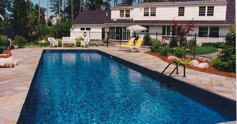 Liverpool Pool And Patio by Rectangle Pool In Ground Swimming Pools Built By