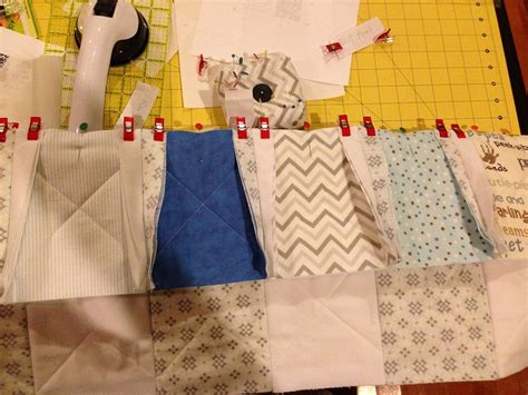 Sewing Quilt Squares Together by Rag Quilt Is Finished 171 Simple Joys Of