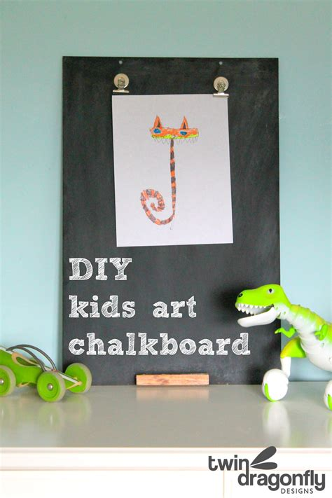 diy chalkboard for toddlers diy chalkboard 187 dragonfly designs