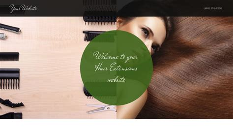 exles of hair websites hair extensions website templates godaddy