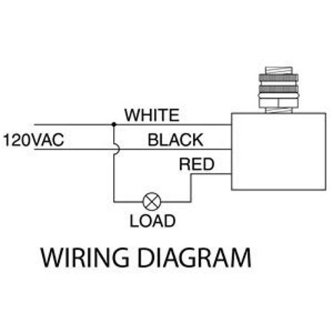 photocell wiring diagram 120v photocell wiring guide
