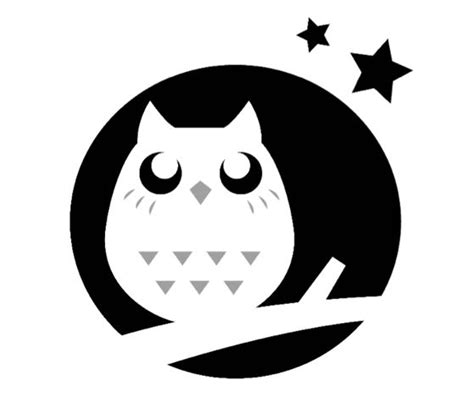 printable owl stencils download this night owl pumpkin carving stencil and other