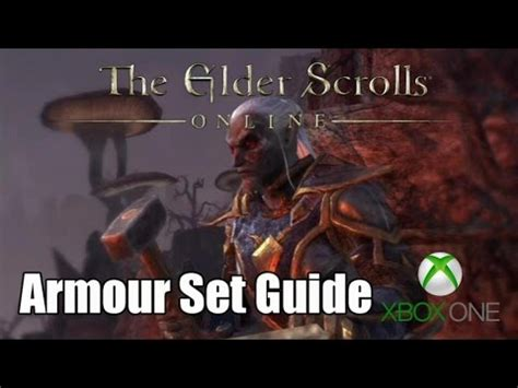 elder scrolls online tutorial xbox one elder scrolls online eso xbox one armour sets tips