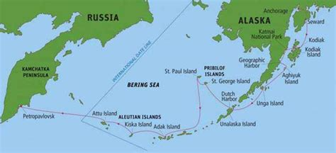 aleutian islands map ellie s world