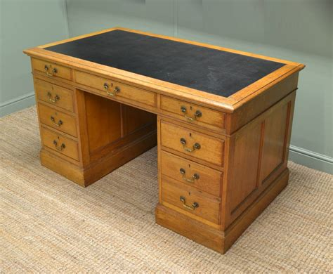 what is a pedestal desk large golden oak antique pedestal desk antiques