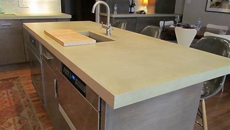 Modern Kitchen Concrete Countertops by Concrete Countertops Kitchen Modern Chicago By