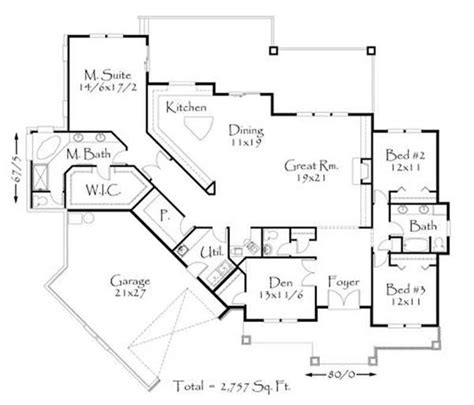 house plans with great room in front prairie style house plan transformed american