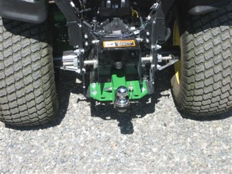 receiver hitch for john deere 1023e & 1026r sub compact