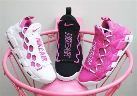 Sneakers Morymony Sneaker Room Nike Air More Money Pink Breast Cancer
