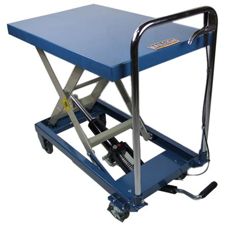 b cart lift table and shop cart baileigh industrial