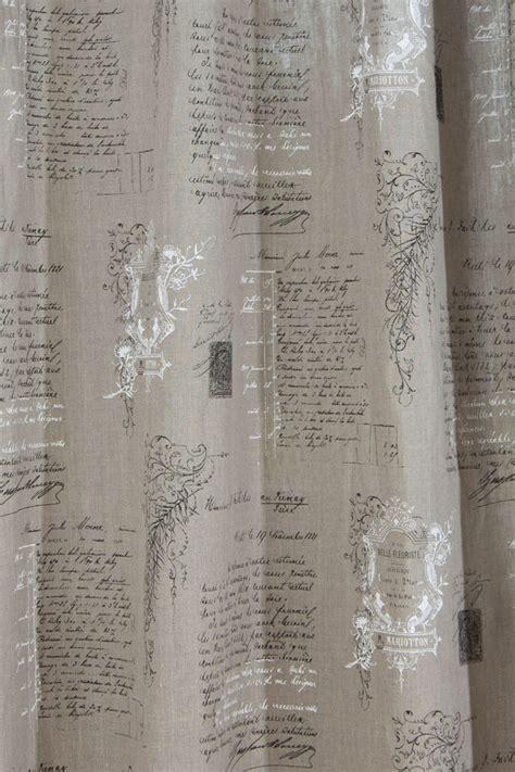leinen gardinen vorhang gardine 214 senschal leinen manuskript 245cm oder