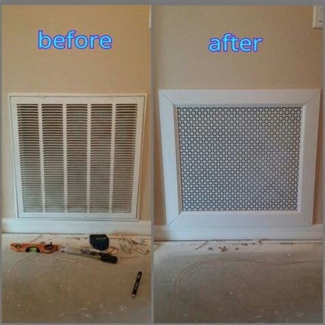 return air vent cover diy home improvement