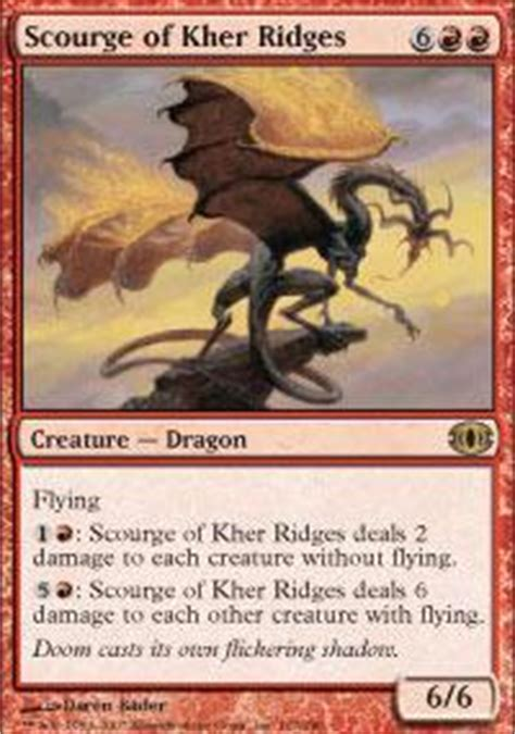 magic the gathering drachen deck 2nd best deck magic the gathering deck