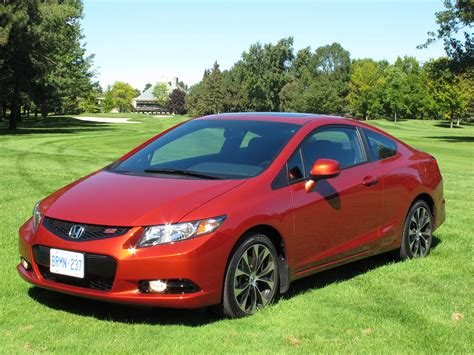 2013 Honda Civic Coupe Review by 2013 本田 Honda Civic Si Coupe Review Cars Photos Test