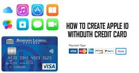 how to make credit card to credit card payment how to create apple id without credit card
