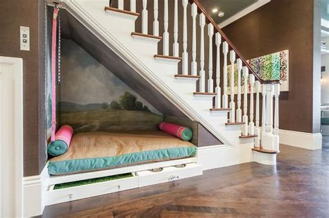 dog bed with stairs that space under the stairs centsational style
