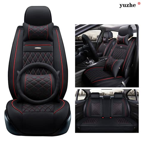 toyota leather seat covers yuzhe leather car seat cover for toyota rav4 prado