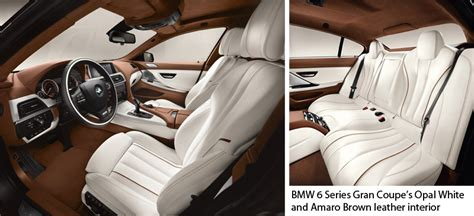 Bmw Opal White Interior by Bmw S 6 Series Gran Coupe Naples Illustrated