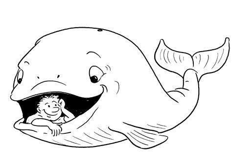 jonas y el gran pez dibujos para colorear jonas y el gran pez dibujos para colorear